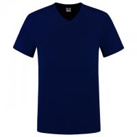 T-shirt v-hals slim fit heren