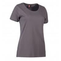 Eco label t-shirt ronde hals dames