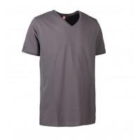 Eco label t-shirt v-hals heren