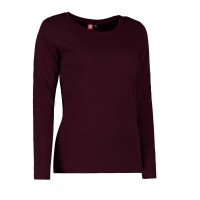 Dames interlock t-shirt long-sleeved