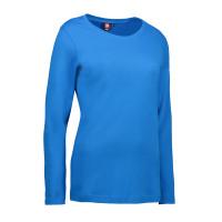 Dames interlock t-shirt long-sleeved