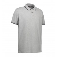 Stretch contrast polo shirt |Heren