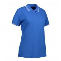 Stretch contrast polo shirt |Dames