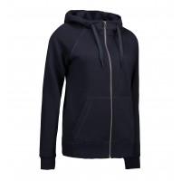 Core full zip hoodie dames