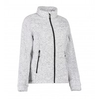 Dames quilted fleece jacket