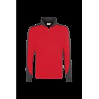 Zip-sweatshirt contrast - Heren
